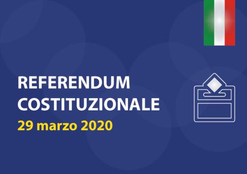 referendum 2020 sede ITE - ITA via marrucci Cecina sarà chiusa