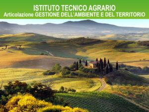 indirizzo agrario gestione ambiente e territorio ITA Cattaneo Marco Polo
