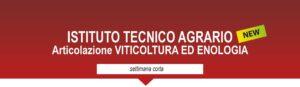 Indirizzo agrario articolazione viticoltura ed enologia