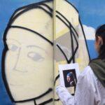 Murale Marco Polo: realizzato con l'aiuto e la collaborazione di Andre Bruci esperto esterno