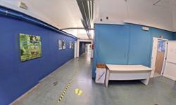 Corridoio Liceo Artistico Marco Polo